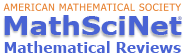 MathSciNet American Mathematical Society Logo